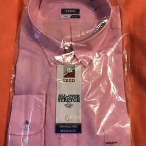 Izod XXL pink dress shirt